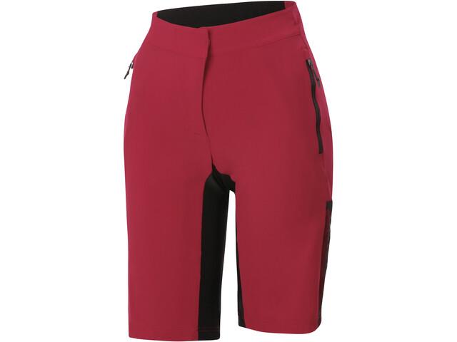 Sportful Supergiara Szorty Kobiety, czerwony